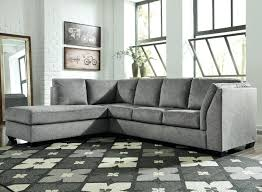 2 piece sectional with chaise 2 piece sectional with left chaise sleeper sofa in gray fabric