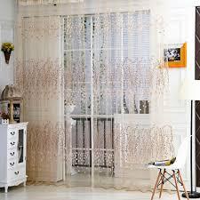 Nur 1406 Anself Winterblüte Muster Halb Shading Vorhang Für Tür