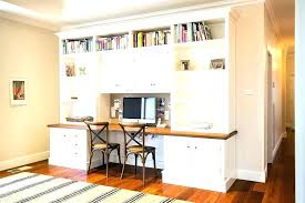 double desks for home office. Built In Corner Desk Home Office Double Custom Desks Best Ideas On For A