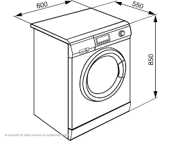 Front Load Washer Dimensions Washer And Dryer Dimensions Lg Front Load Washer Washing Machine