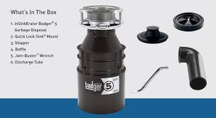 Insinkerator Badger 5 12 Hp Continuous Feed Garbage Disposal At
