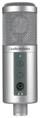 Купить <b>Микрофон Audio</b>-<b>Technica ATR2500</b>-<b>USB</b> серебристый по ...