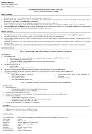 Accounts Resume Format Inspiration Accountant Resume Samples Assistant Accountant Resume CV For