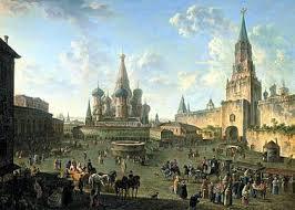 Москва Википедия Красная площадь Картина Ф Алексеева 1808 год