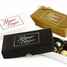 bespoke branded promotional 8 choc your logo um personalised chocolate gift box group