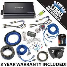 Kicker Cxa300 1 Red Light Details About Kicker 43cxa3004 Car Audio 4 Channel Amp Cxa300 4 W Remote Ck4 Amplifier Kit