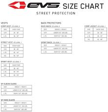 Evs Helmet Size Chart Evs Sports 412305 0309 Rv4 Roost Guard Large X Large Black