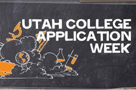 applying to college step up utah utah college application week