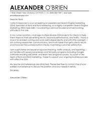 Best Sem Cover Letter Examples Livecareer