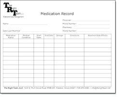 Medication Log Sheets Medication Administration Record Template Design Example Fresh 5