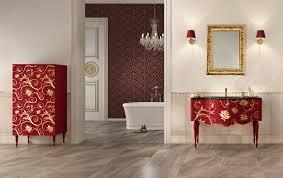 wallpaper bathroom italian