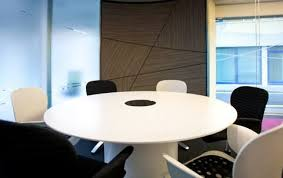 circular meeting table