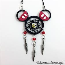 Mickey Mouse Dream Catcher Extraordinary Classic Mickey Mouse Dream Catcher PREORDER Kim's Custom Crafts