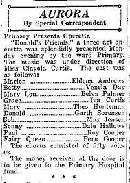 Iva Curtis - aurora in a 3 act operetta - Newspapers.com