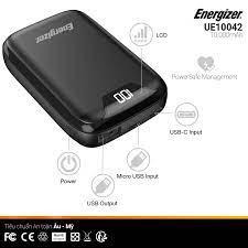 Pin sạc dự phòng Energizer 10,000mAh - UE10042