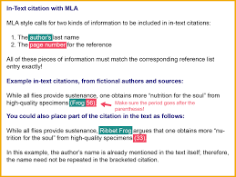 021 Model Mla Paper Research In Text Citation Museumlegs