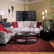 Zebra Rug Living Room Living Room Fantastic Pattern Living Room Furniture With Black