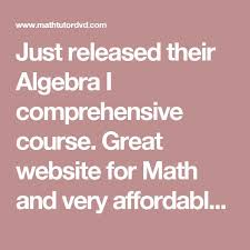 best math homework help ideas math hacks  just released their algebra i comprehensive course great website for math and very affordable