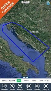 Nautical Charts Croatia Free Croatia Nautical Charts Hd Gps App For Iphone Free