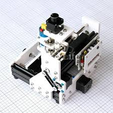 newest diy mini 3 axis usb desktop cnc router wood pcb milling carving engraving machine kit