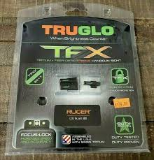 truglo tg13rs2a brite tfx hand sight ruger lc set for
