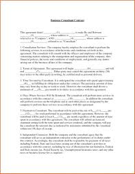 Business Consulting Agreements template Business Consultant Agreement Template 1