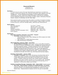 Sample Resume Business Intelligence Manager Awesome Manager Resume