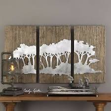 image is loading new 54 034 rustic wood wall panels laser  on rustic wood panel wall art with new 54 rustic wood wall panels laser cut iron burnished silver