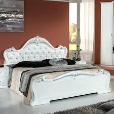 White Italian Bedroom Set Luxury Bedroom And Furniture In Classic ...