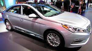 hyundai sonata 2015 exterior. 2015 hyundai sonata limited exterior and interior walkaround debut at 2014 new york auto show youtube