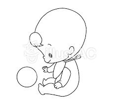 横向き赤ちゃんイラスト No 1443612無料イラストならイラストac