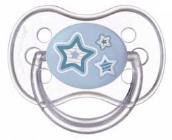 <b>Пустышка Canpol Newborn baby</b> от 6 месяцев силикон голубой ...