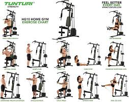 Multi Station Home Gym Exercise Chart Exercise Online Charts Collection