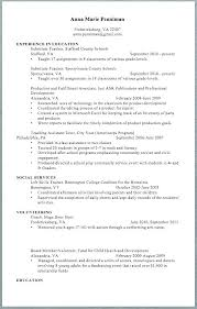 Substitute Teacher Resume Enchanting Substitute Teaching Resume Samples Sample For Lecturer Teacher