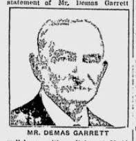 Demas Garrett (1855 - 1932) - Genealogy