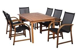Buy Amazonia Bahamas <b>7</b>-<b>Piece</b> Eucalyptus Rectangular Dining Set..