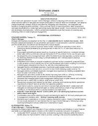Retail Manager Resume Warehouse Management Resume