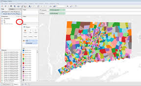 Tableau Venn Diagram Mapping Connecticut Census Tract Data In Tableau Outside The Neatline