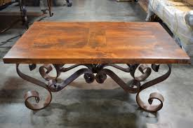 amazing of wrought iron coffee table base with coffee table wood and wrought iron round coffee table base rod is
