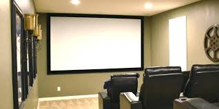 projection screen wall paint the best projector screen for most people projection screen vs painted wall