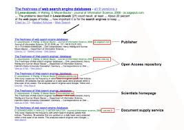 Different Versions Of The Same Article In Google Scholar