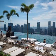 infinity pool singapore hotel. Marina Bay Sands Hotel, SkyPark, Singapore Infinity Pool Hotel T