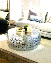 round drum coffee table manila hammered barrel coffee table manila hammered barrel coffee table coffee table