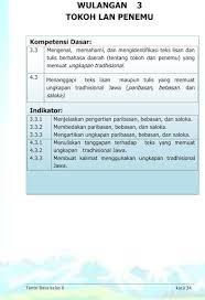 Download buku siswa bahasa jawa kelas 4 sd/mi buku tantri basa bahasa jawa untuk kelas 4 sd/mi ini terdiri dari 7 bab (wulangan), yaitu : Buku Siswa Kelas 6 Bahasa Jawa Tantri Basa 2016 Download Apk Free For Android Apktume Com