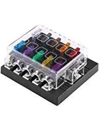 amazon com fuse boxes fuses & accessories automotive breaker box 200 amp at Breaker Fuse Box Holder