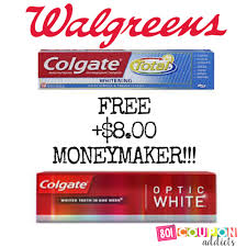 Colgate Total Or Optic White Toothpaste Free 8 00 Moneymaker At