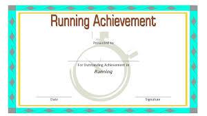 Fun Run Certificate Template Iinan Co