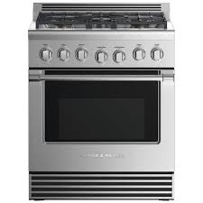 Fisher Paykel Professional (Formerly DCS) 30-Inch 5-Burner Natural Gas Range - RGV2-305N N : BBQ Guys