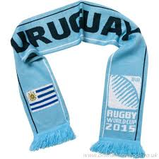 creative black navy white light blue yellow blue uni scarf air rugby world cup uruguay sports