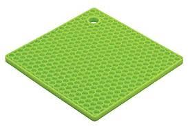 HIC Harold Import <b>Co</b>. 43721KW HIC Honeycomb Silicone Trivet, <b>7</b> ...